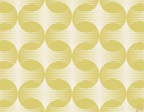Set de table graphique : Rondo