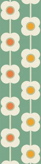 Papier peint vintage : Marguerite (65 x 260 cm)