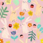 lapins rose doux