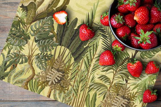 Set de table végétal : Jungle