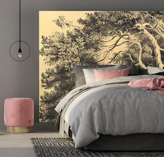Tête de lit adhésive, dimension 120 x 180 cm